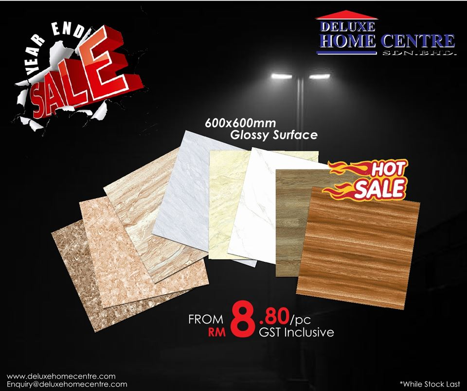 Promotion - Ceramic Tiles in Malaysia | Deluxe Ceramic Tiles Malaysia